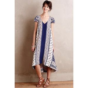Anthropologie Maeve Summertide Swing Dress
